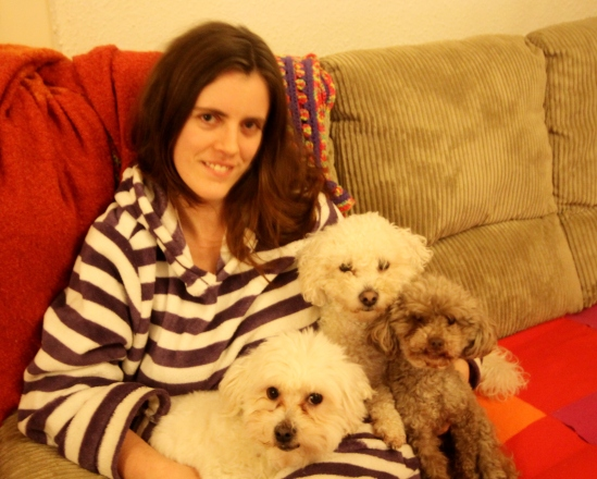 Cuddles with Pogo, Casper and Jimmy